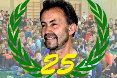 25-jähriges Jubiläum