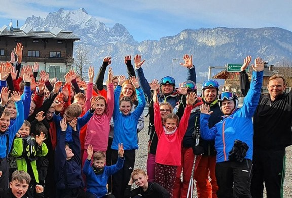 Skitag an der Schule